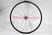 """Заднее колесо на велосипед 26"""" MTB обод и втулка алюминиевые в сборе, под вольнобег, крепл. гайка"""