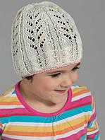 Ажурные деми шапки для девочек