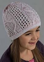 Красивые, ажурные шапки для девочек