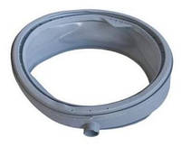 Резина (Манжета) люка для стиральной машины. Ariston/ Indesit 056743. C00056743  с ручкой и заготовкой под хвостик