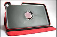 Красный кожаный вращающийся чехол для ASUS Fonepad 8 FE380CG