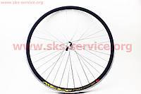 """Переднее колесо на велосипед 28"""" MTB """"капля"""" обод и втулка алюминиевые в сборе, крепл. ексцентрик"""