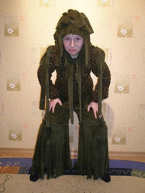 Как сделать костюм лесника