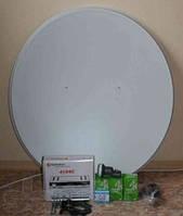 Спутниковый комплект с ресивером ORTON4100
