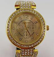 Часы наручные женские Michael Kors 012807 золото стразы