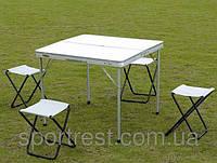 Набор мебели для пикника стол + 4 стула SPRINTER