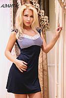 Домашнее платье/сорочка для сна трикотаж АЭЛИТА FLEUR Lingerie
