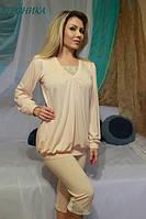 Женская пижама с бриджами/лосинами ВЕРОНИКА FLEUR Lingerie