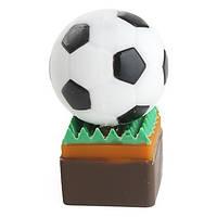 USB-флешка футбольный мяч на траве 4 Гб.
