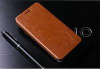Кожаный чехол книжка MOFI для Lenovo Golden Warrior Note 8 A936 коричневый