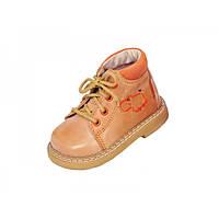 Детские ортопедические демисезонные ботинки из натуральной кожи  Rena 937-02