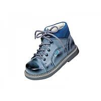 Детские ортопедические демисезонные ботинки из натуральной кожи Rena 935-02
