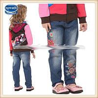 Детские джинсы на девочку из тонкого коттона