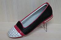 Подростковые туфли на девочку, школьная детская обувь тм Тom.m р.34