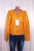 Кожаная куртка женская из эко-кожи