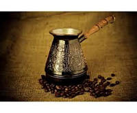 "Турка для кофе медная (400 мл) ""Знаки Зодиака"""