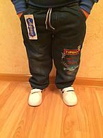 Детские джинсы для мальчика прямые 2-6 лет