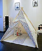Коврик для детской палатки-вигвама - Лесные жители