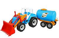 Игрушечный трактор Тигр с цистерной Орион 051