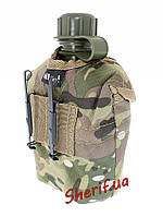 Фляга военная  в чехле с подстаканником MIL-TEC Multicam, 14506049