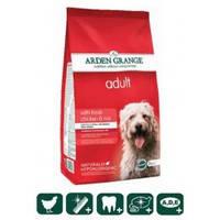 Корм сухой для взрослых собак всех пород со свежей курицей и рисом Arden Grange Adult Dog 12 кг.