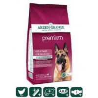 Сухой корм для взрослых привередливых собак Arden Grange Adult Dog Premium 2 кг.