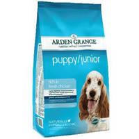 Корм сухой для щенков средних пород (2-12 мес.) и для беременных собак Arden Grange Puppy Junior 2 кг.