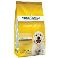 Сухой корм для щенков малых пород (3нед.-12мес.) и для беременных собак  Arden Grange Weaning Puppy 2 кг.