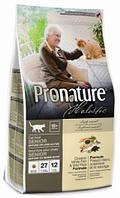 Корм для пожилых кошек Pronature Holistic Oceanic White Fish & Wild Rice