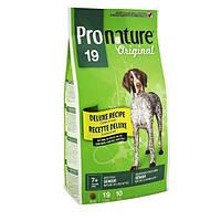 Pronature Original (Пронатюр Ориджинал) ДЕЛЮКС СЕНЬОР сухой супер премиум корм Без пшеницы, кукурузы, сои для собак (15 кг)