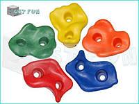 Камни для детских площадок 5 штук, зацепы для скалодрома