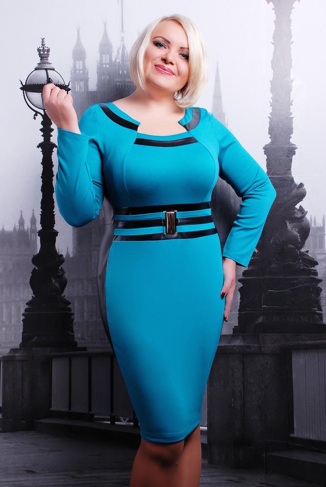 Фото красивых полненьких блондинок в платье
