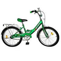"""Велосипед PROFI детский 20"""" P 2042 зеленый, звонок, подножка"""