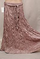 Юбка в пол длинная  Турция штапель жатка цвета в ассортименте