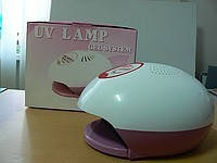 Уф лампа для геля с таймером и вентилятором