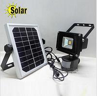 Сенсорный фонарь 10Вт на солнечной батарее