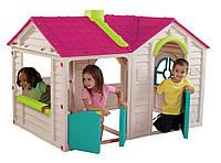 Детский Пластиковый Игровой домик Garden Villa Play House