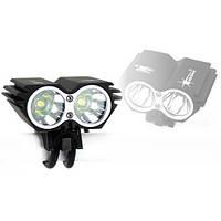 Двойной фонарь фара для велосипеда 2x CREE XM-L U2