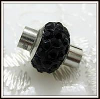 Магнитный замок Шамбала черный (диам. 5 мм)