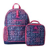 Рюкзак школьный CROCS в наборе с ланч-боксом Crocs Backpack Lunchbag Combo
