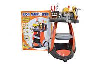 Набор инструментов с тележкой и машинкой Limo Toy M 0446 U/R