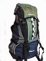 Рюкзак туристический 65 литров EF - зеленый