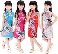 Стильное платье в китайском стиле