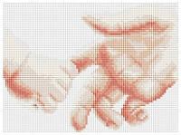 Рисование камнями на холсте Lasko Маленькое чудо (TL007) 24 х 18 см