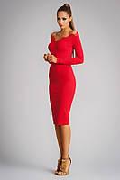Эффектное платье-футляр для уверенной женщины