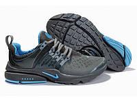 Nike Air Presto серо-голубые  /женские кроссовки / сетка / текстиль