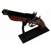 Зажигалка пистолет Мушкет F-2