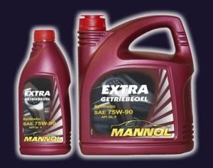Масло трансмиссионное mannol extra getriebeoel 75w