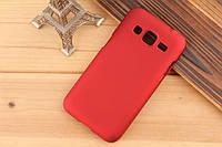 Чехол накладка бампер для Samsung Galaxy Core Prime G360 бордовый