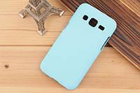 Чехол накладка бампер для Samsung Galaxy Core Prime G360 бирюзовый